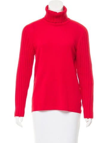 Akris Punto Wool Turtleneck Sweater None