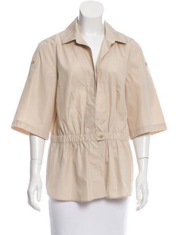 Akris Punto Short Sleeve Lightweight Jacket None