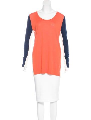 Akris Punto Wool Colorblock Sweater None