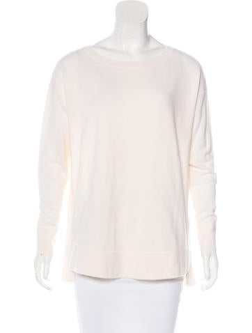 Akris Punto Wool Long Sleeve Sweater None