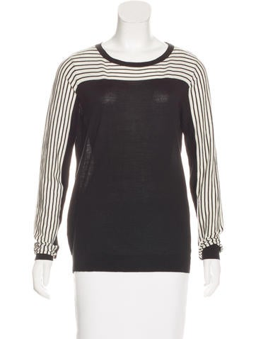 Akris Punto Wool Knit Top None