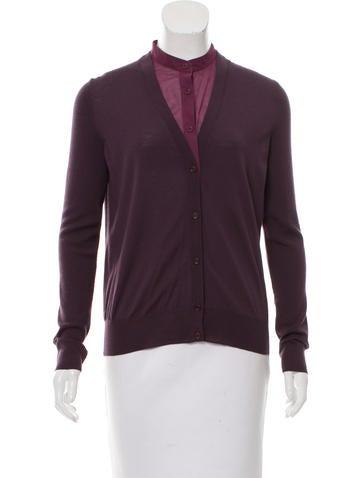 Akris Punto Knit Button-Up Cardigan None