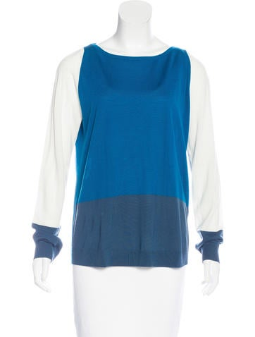 Akris Punto Colorblock Wool Sweater None