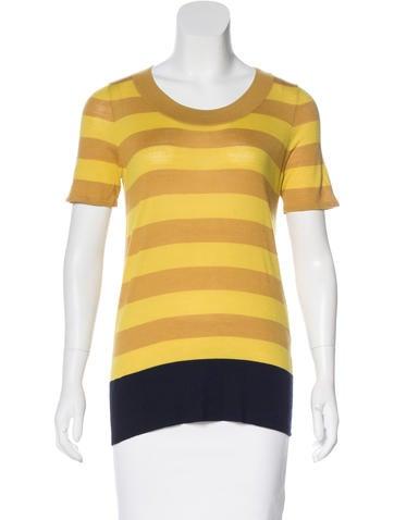 Akris Punto Wool Short Sleeve T-Shirt None