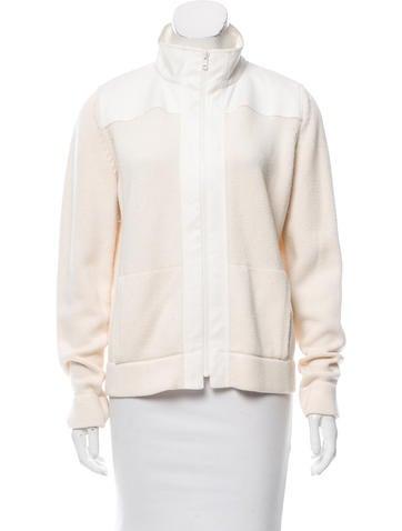 Akris Punto Rib Knit Sweater Jacket None