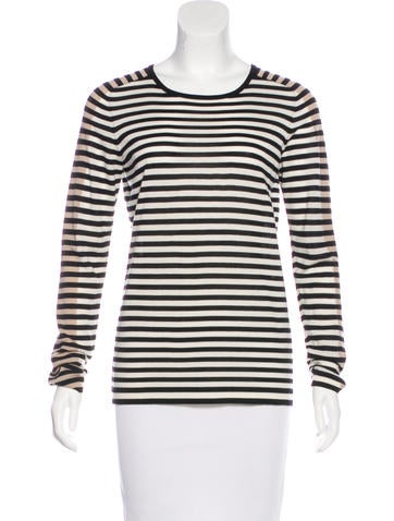 Akris Punto Wool Striped Sweater None