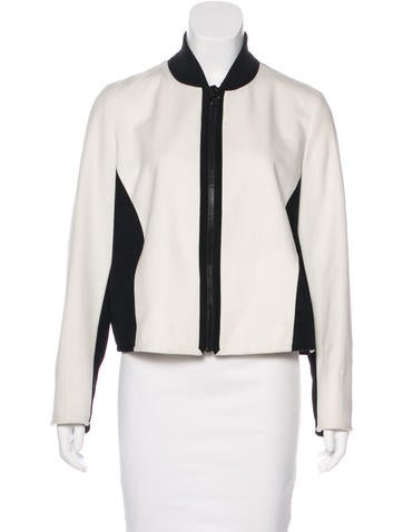 Akris Punto Wool & Angora-Blend Jacket None
