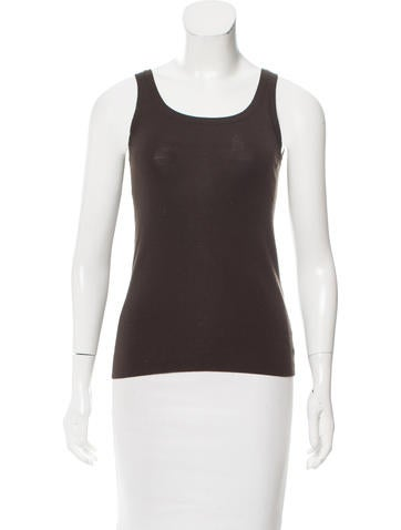 Akris Punto Scoop Neck Wool Top None