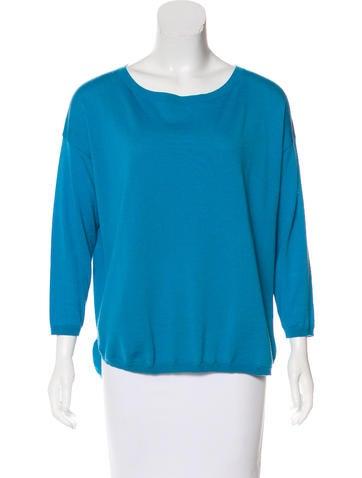 Akris Punto Wool Knit Sweater None