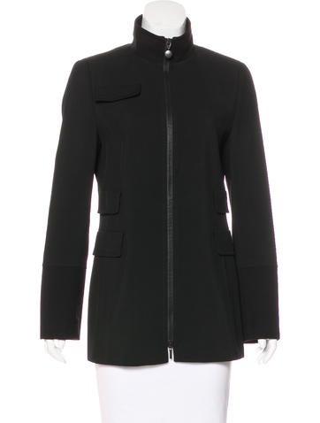 Akris Punto Lightweight Wool Jacket None