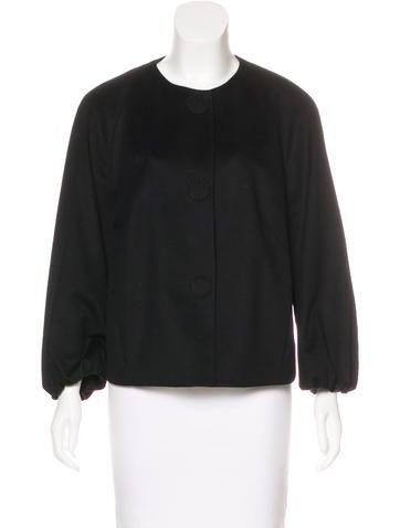 Akris Punto Wool-Blend Lightweight Jacket None