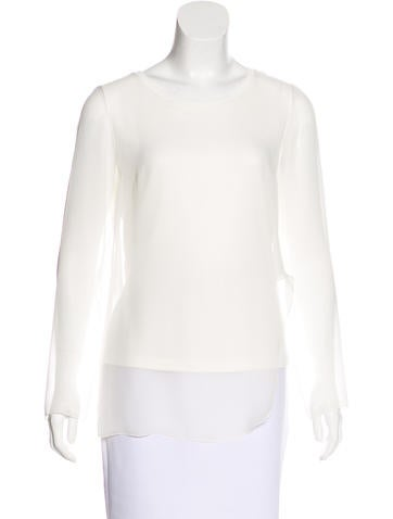 Akris Punto Long Sleeve Draped Top w/ Tags None