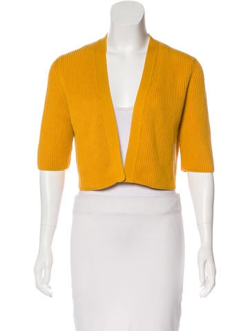 Akris Punto Wool Open Front Shrug None