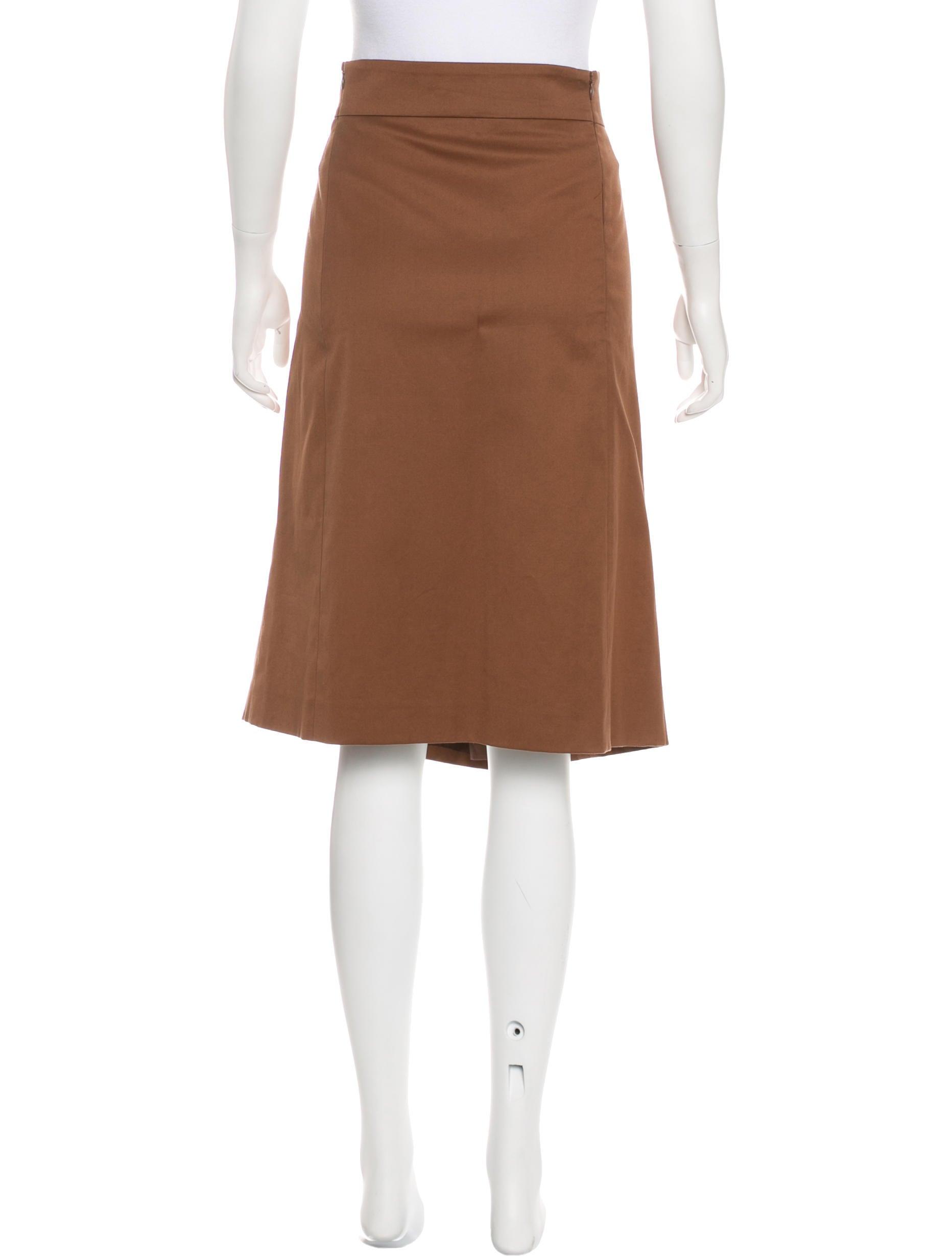 Akris Punto Knee-Length Pencil Skirt - Clothing