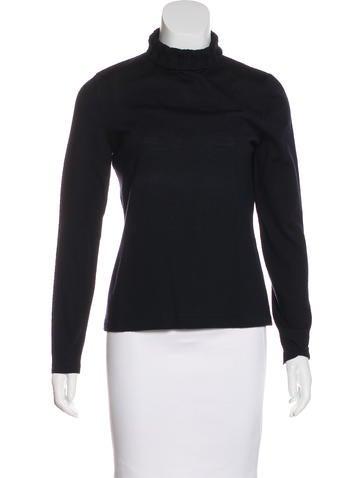Akris Punto Wool Turtleneck Sweater None