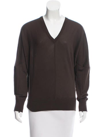 Akris Punto Long Sleeve Wool Sweater None
