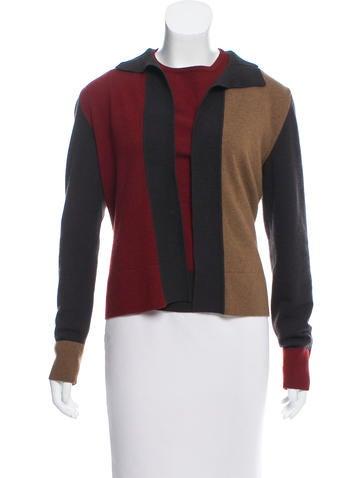 Akris Punto Colorblock Wool-Blend Cardigan Set None
