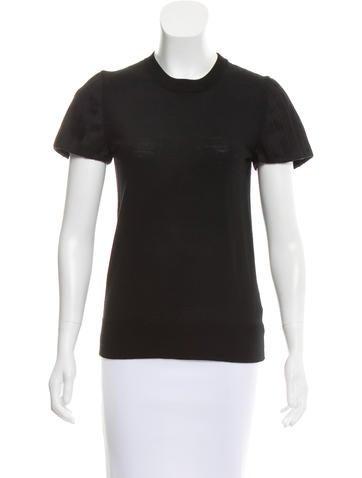 Akris Punto Wool Short Sleeve Top w/ Tags None