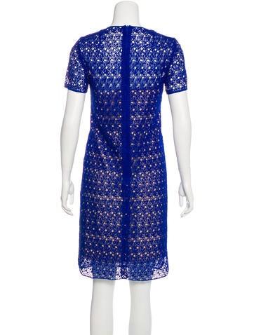 Macramé Knee-Length Dress