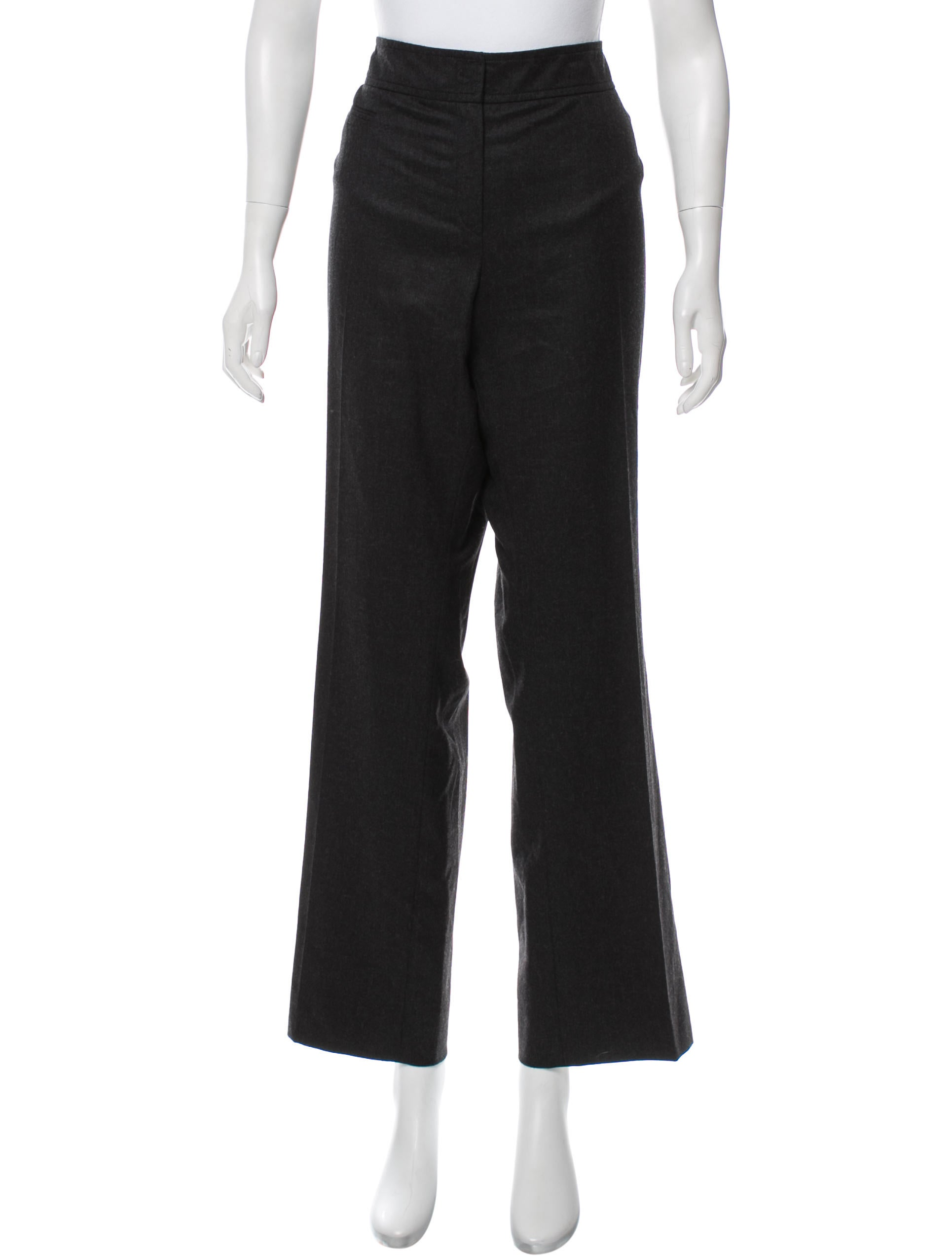 Akris Punto Wool High-Rise Pants w/ Tags Cost Cheap Online Outlet Clearance Low Price 3oGye