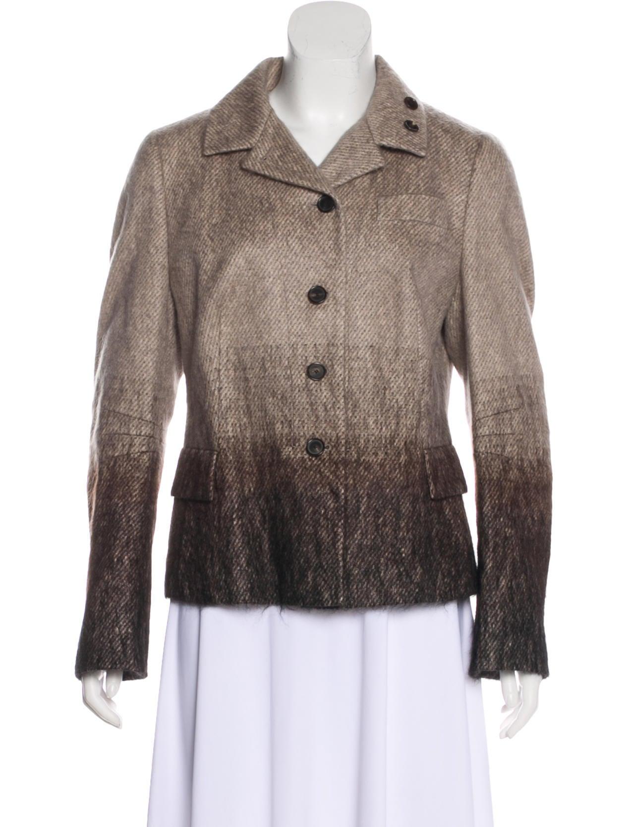 Akris Punto Button-Up Wool Jacket Clearance Shop Websites Cheap Online c0aDt