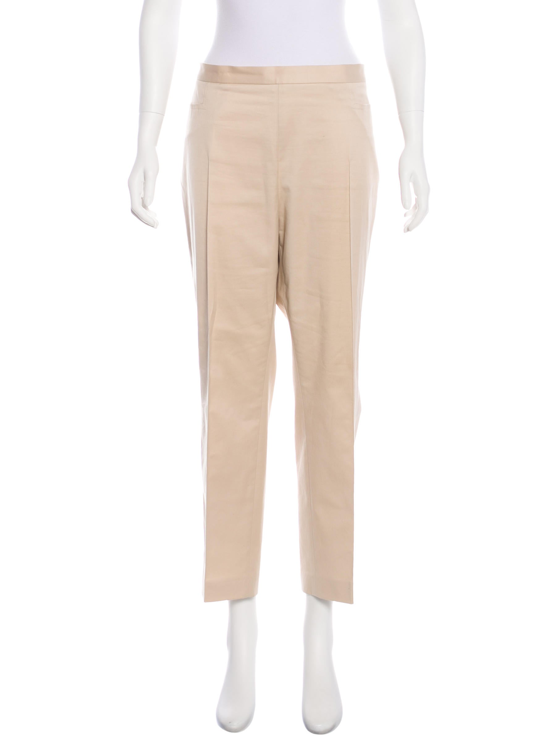 Akris Punto High-Rise Straight-Leg Pants w/ Tags Cheap Price Cost TaVGuYS
