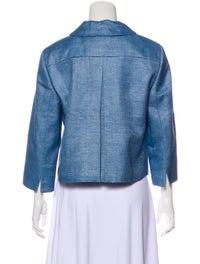 Silk Blazer w/ Tags image 3