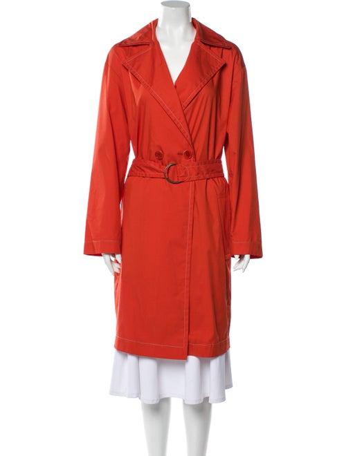 Akris Punto Trench Coat w/ Tags Orange
