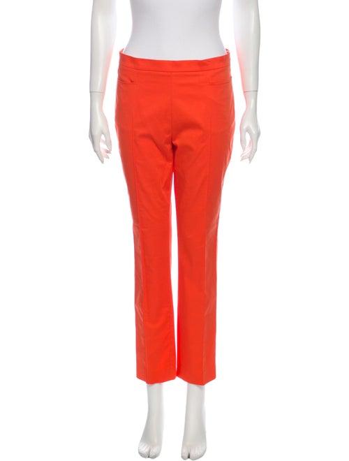 Akris Punto Skinny Leg Pants Orange
