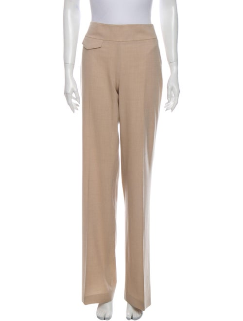 Akris Punto Wool Wide Leg Pants Wool