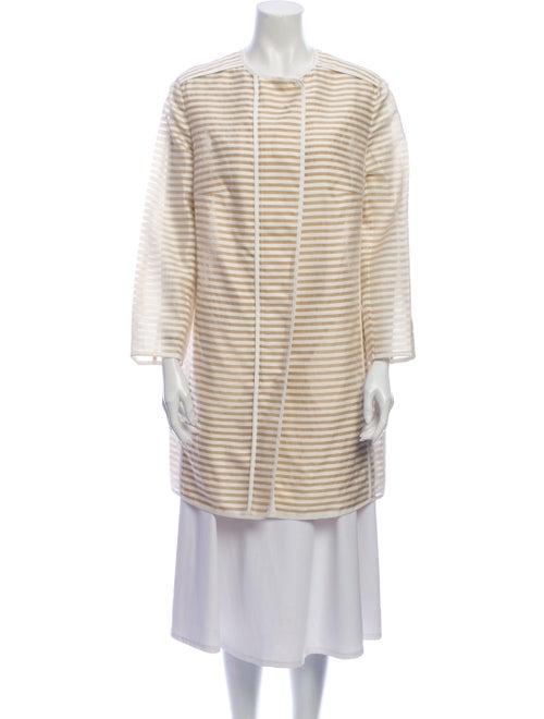 Akris Punto Striped Coat