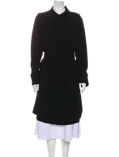 Akris Punto Trench Coat Black