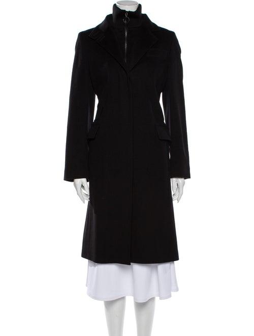 Akris Punto Wool Trench Coat Wool