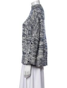Akris Punto Animal Print Turtleneck Sweater