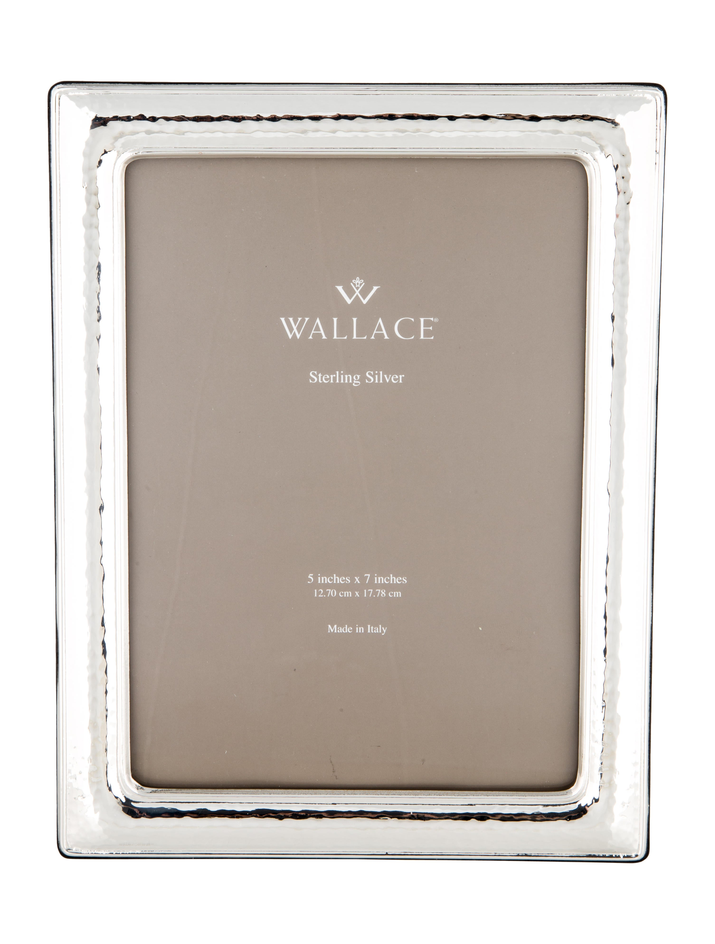 Wallace Sterling Silver Frame - Decor And Accessories - WALCE20050 ...