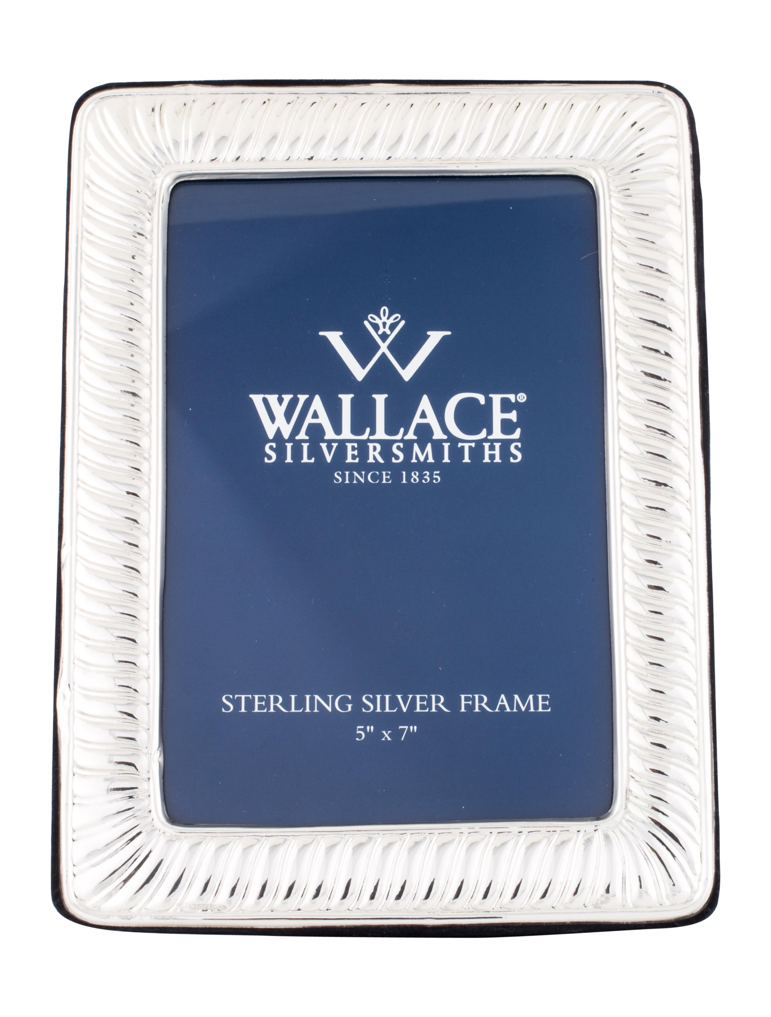 Wallace sterling silver frame decor and accessories for Artistic accents genuine silver decoration