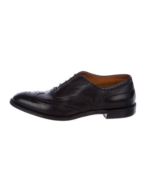 Alden Leather Brogue Oxfords black