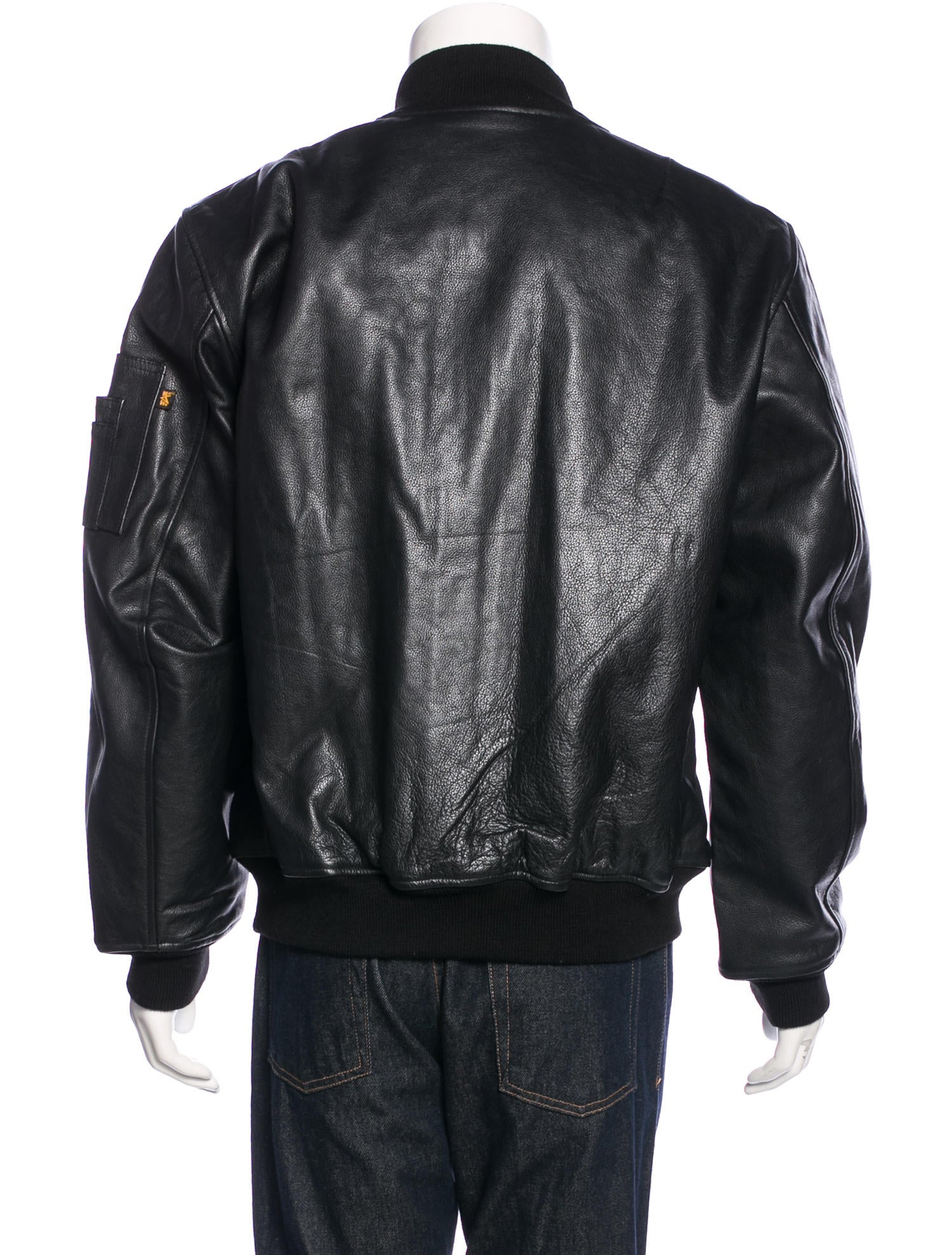 Industry leather jacket