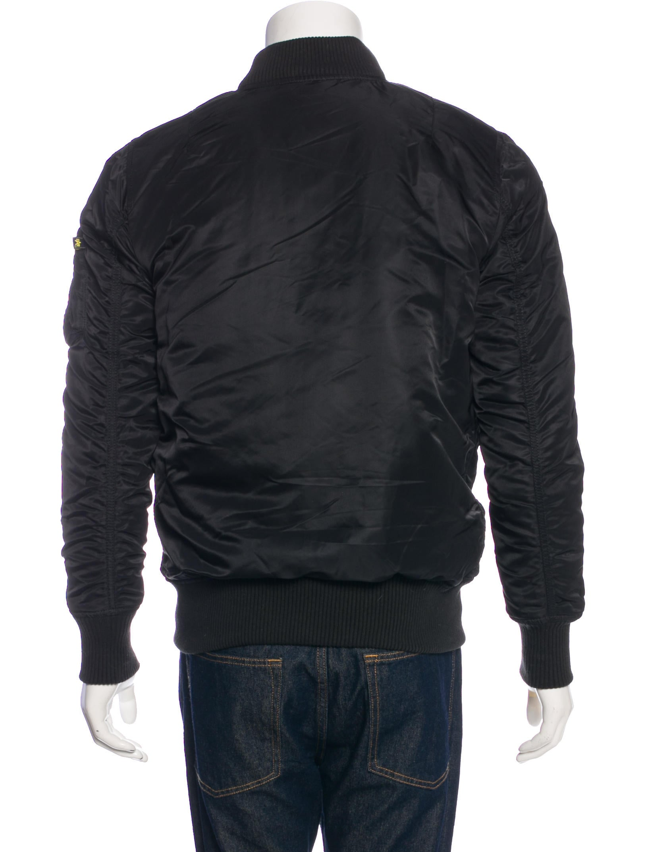 alpha industries nylon bomber jacket clothing. Black Bedroom Furniture Sets. Home Design Ideas