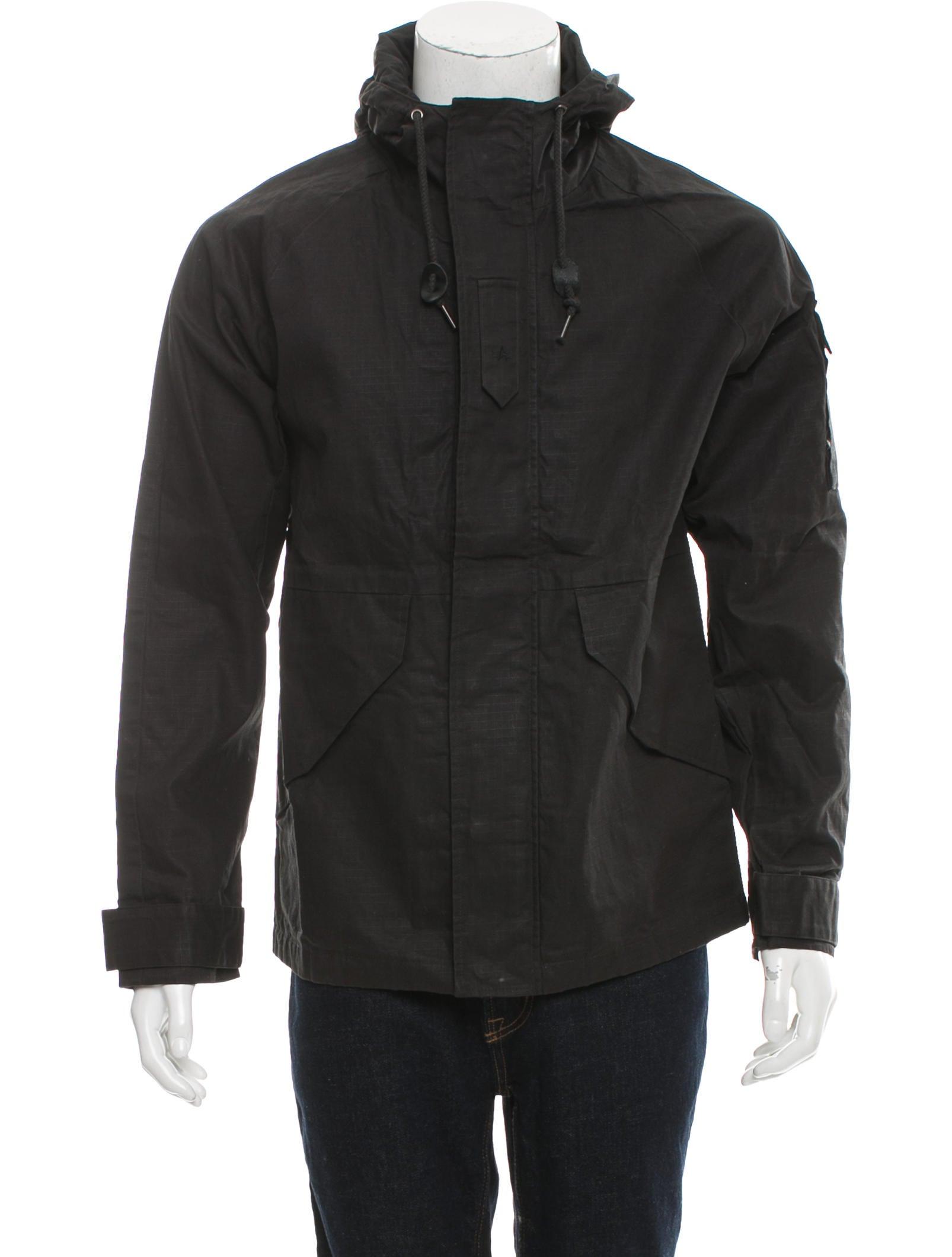 alpha industries hooded parka coat w tags clothing. Black Bedroom Furniture Sets. Home Design Ideas