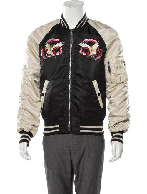 Alpha Industries Reversible Souvenir Jacket black