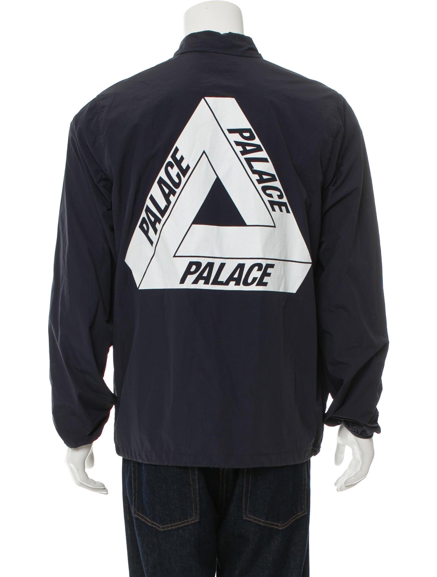Palace Skateboards Logo Coach Jacket Clothing