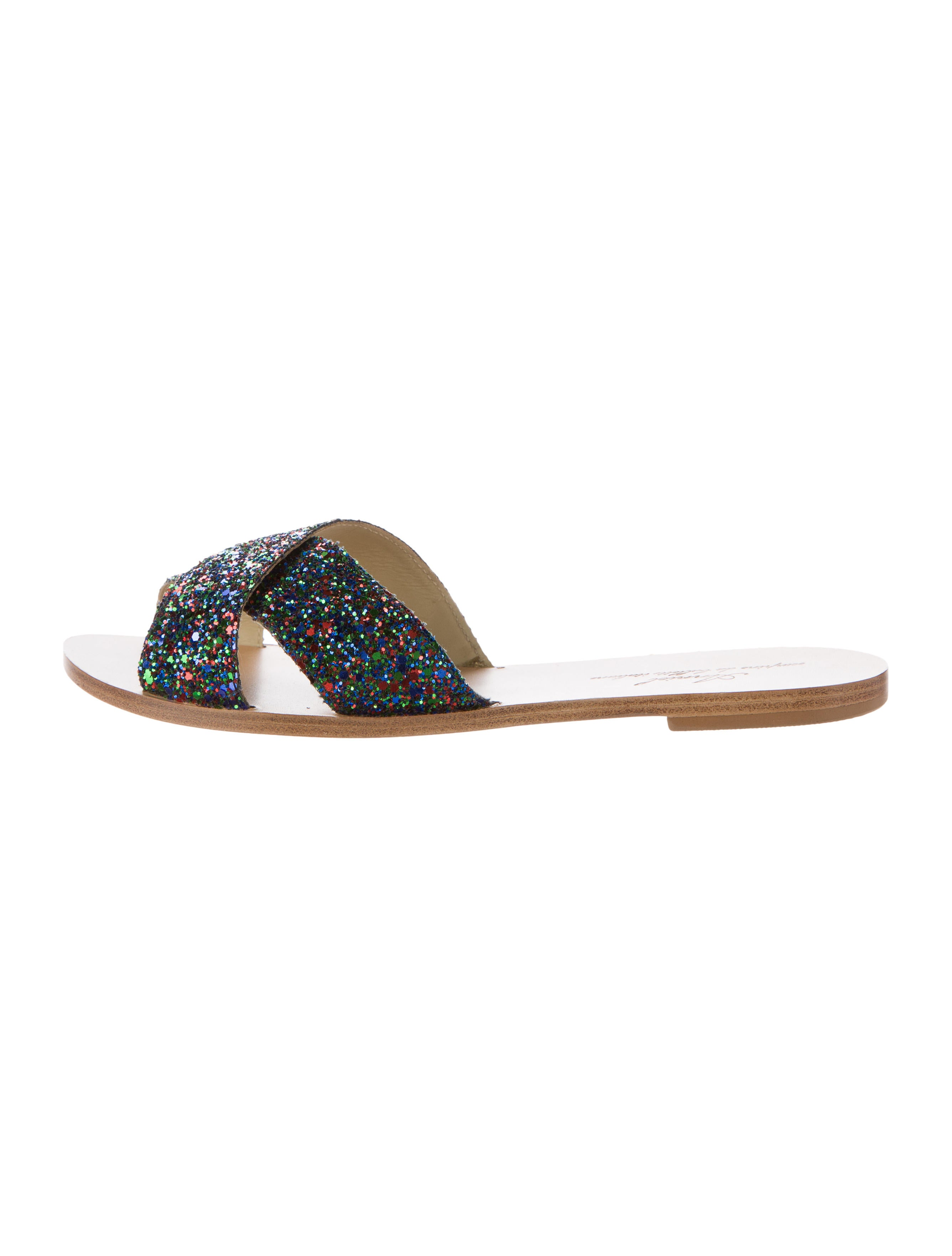 professional sale how much Anniel Glitter Slide Sandals sale cheap outlet store cheap online kLeiE