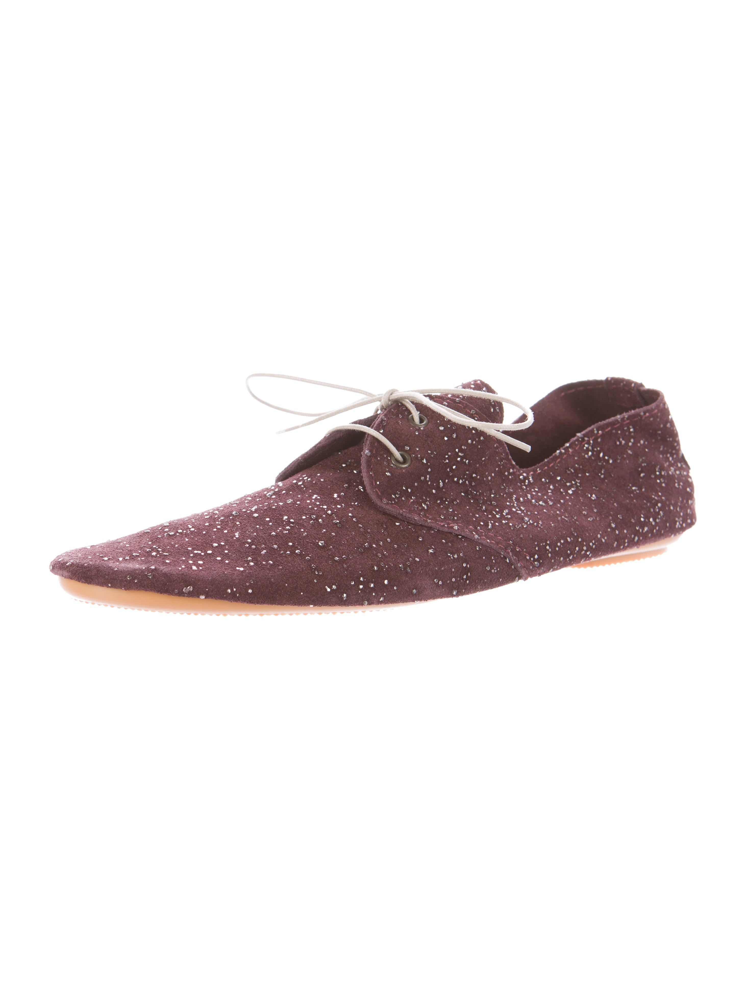 fast delivery cheap price Anniel Glittered Suede Oxfords w/ Tags sale online store outlet authentic lEdslQd3SN