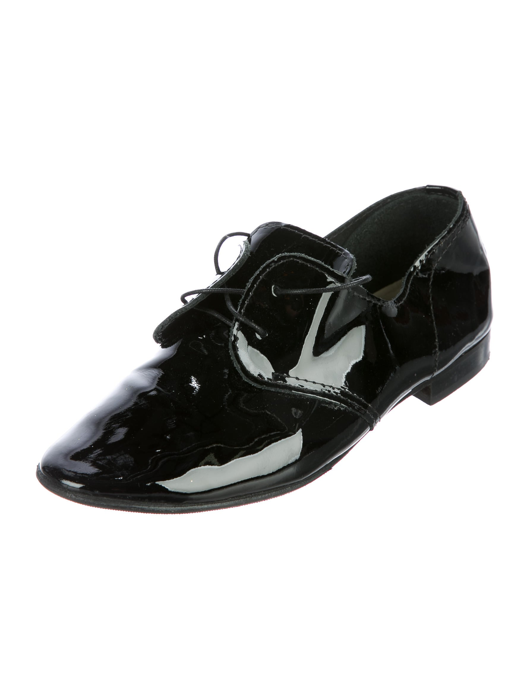 Anniel Patent Leather Round-Toe Oxfords buy cheap store clearance for sale cheap sale finishline discount pay with visa wFZ8yePT2