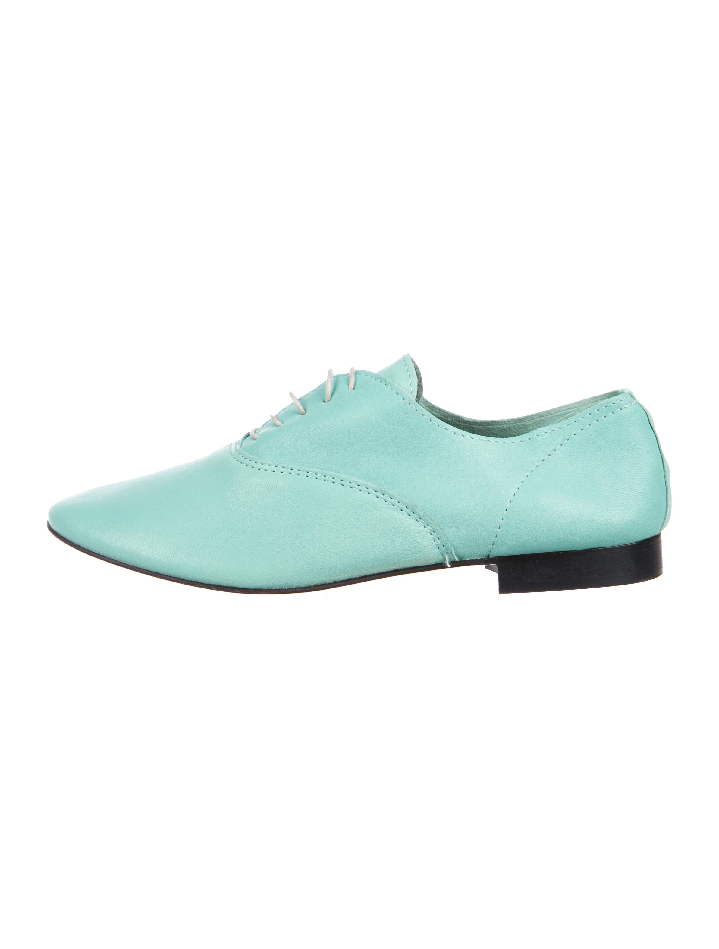 Anniel Leather Round-Toe Oxfords discount best wholesale free shipping outlet discount release dates clearance discounts buy cheap cheap ckORVrpkz