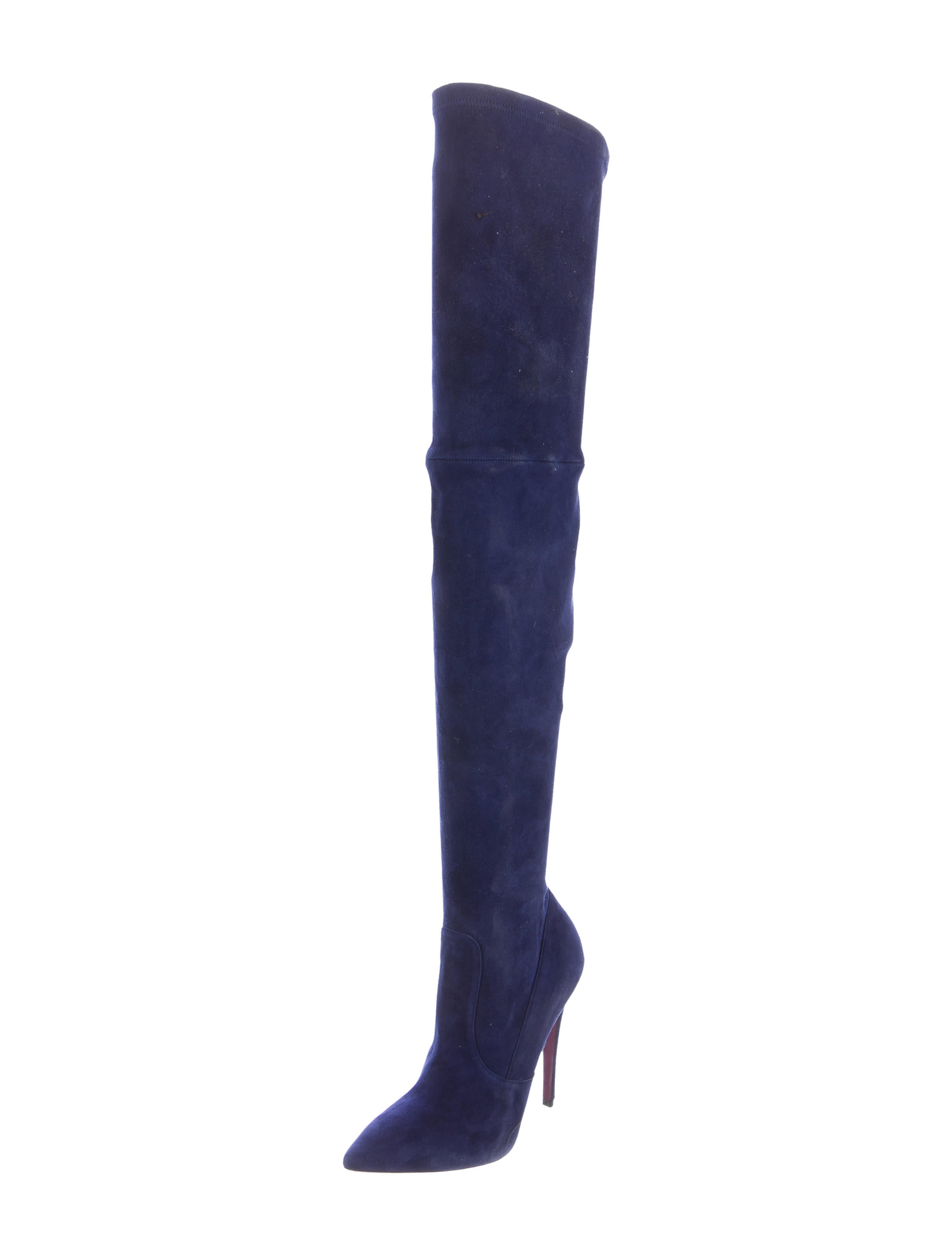 Amanda Gregory 2017 Suede Over-The-Knee Boots websites online free shipping wiki discount outlet store cheap sale best sale newest 7x1Ak