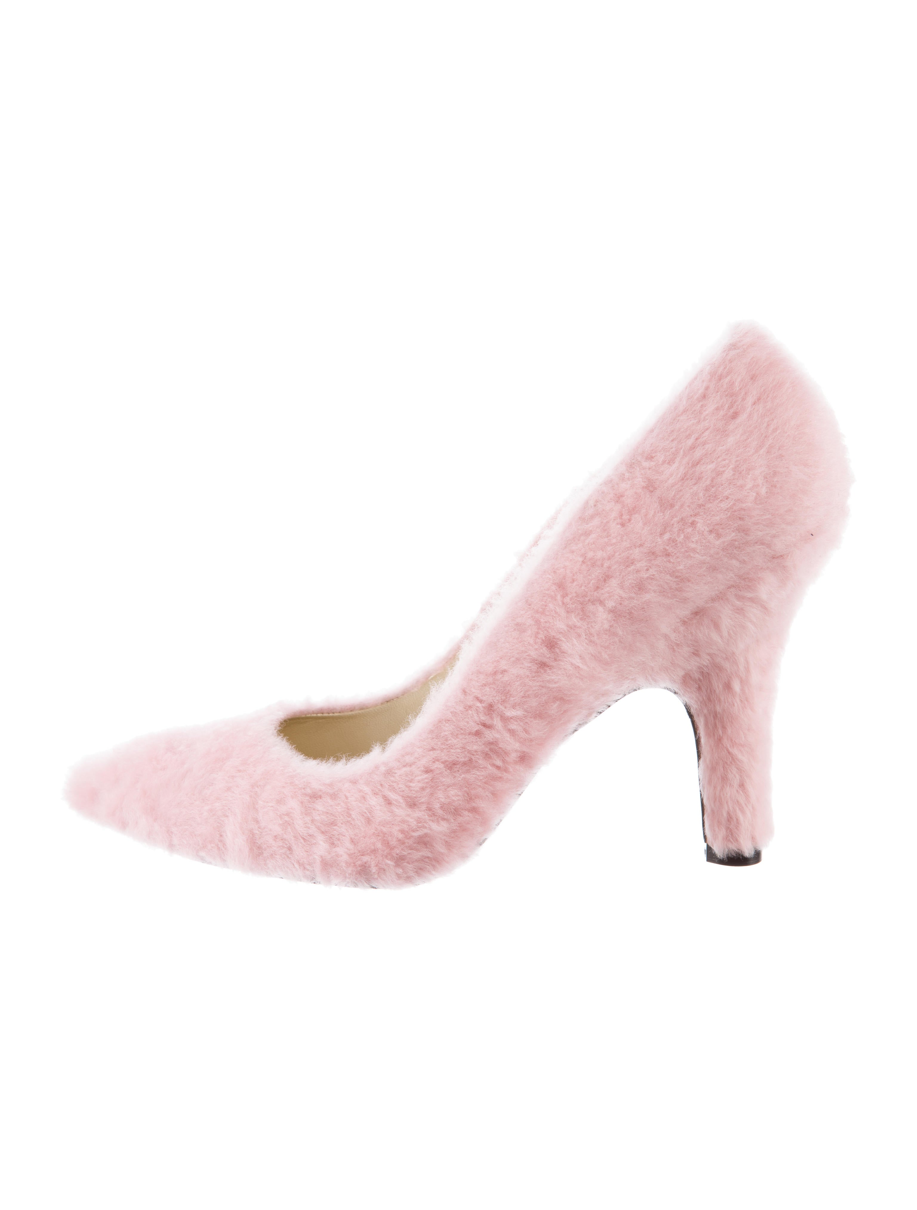 Amélie Pichard Candy Shearling Pumps outlet new arrival kD18xE
