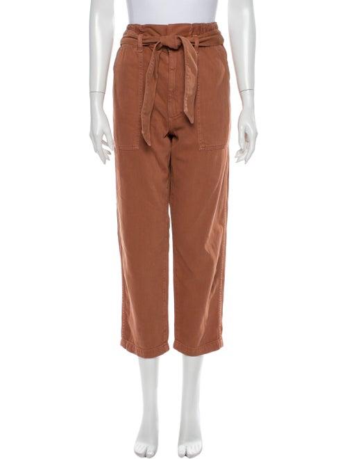 AMO Straight Leg Pants Orange