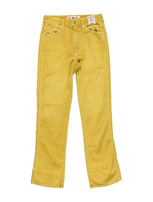 AMO Straight Leg Pants w/ Tags Yellow